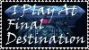 Brawl: Final Destination Stamp by WolfTwilight