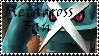 Brawl: Metagross Fan Stamp by WolfTwilight