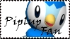 Brawl: Piplup Fan Stamp by WolfTwilight