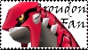 Brawl: Groudon Fan Stamp by WolfTwilight