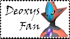 Brawl: Deoxys Fan Stamp