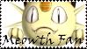 Brawl: Meowth Fan Stamp by WolfTwilight