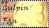 Brawl: Gulpin Fan Stamp by WolfTwilight