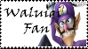 Brawl: Waluigi Fan Stamp by WolfTwilight