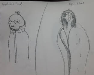 Sketchtember Day 17 and Day 18