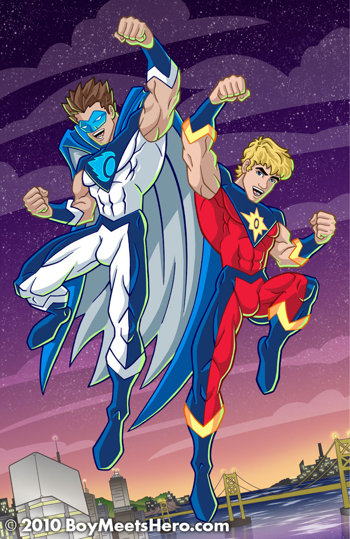 New Blue Comet and Fusion by Boy-Meets-Hero