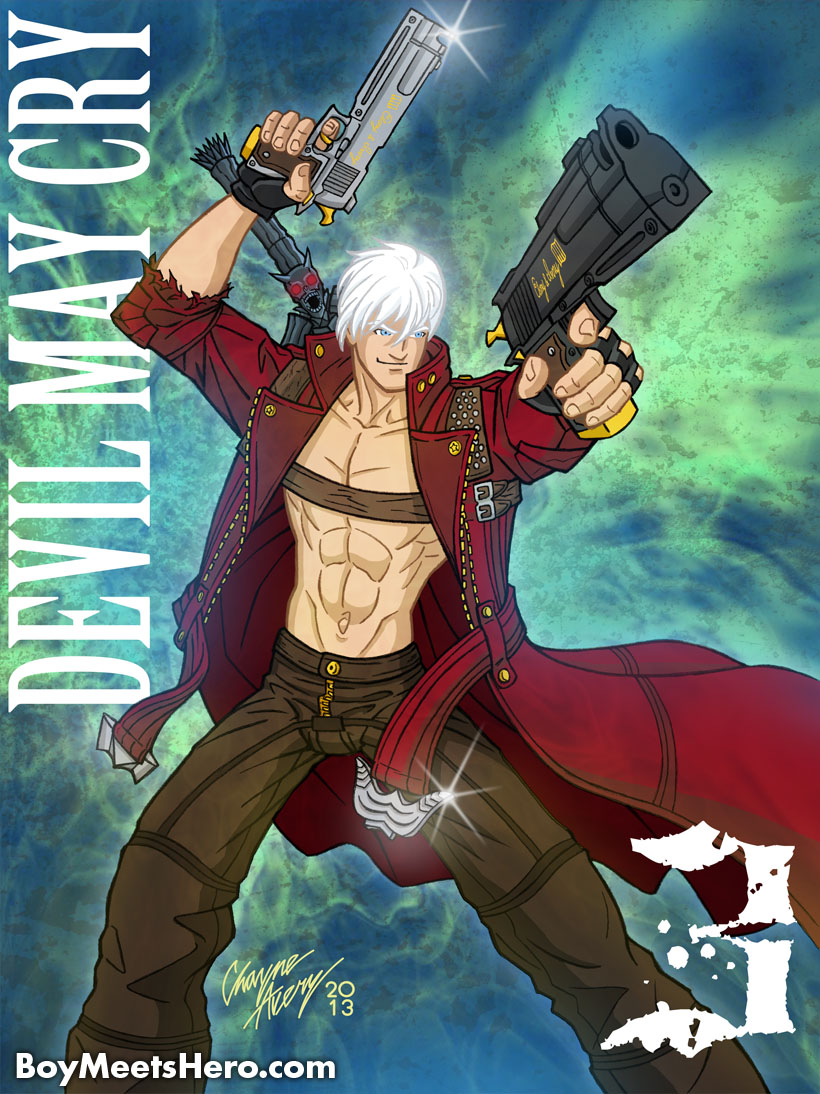 DMC3 Dante by Boy-Meets-Hero