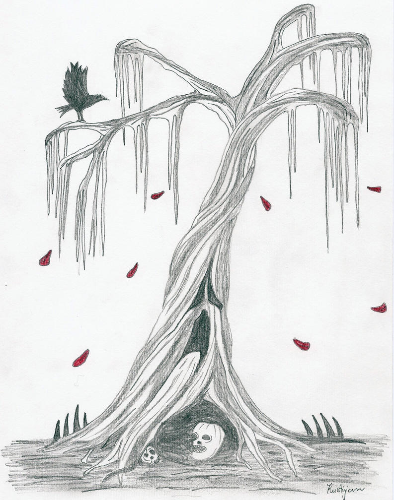 scary tree by gothic man of terror on deviantart