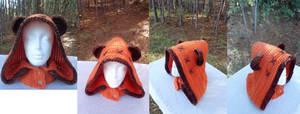 Ewok Hooded Cowl / Neckwarmer