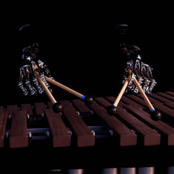 Xylophone Playing Mechanical Hand