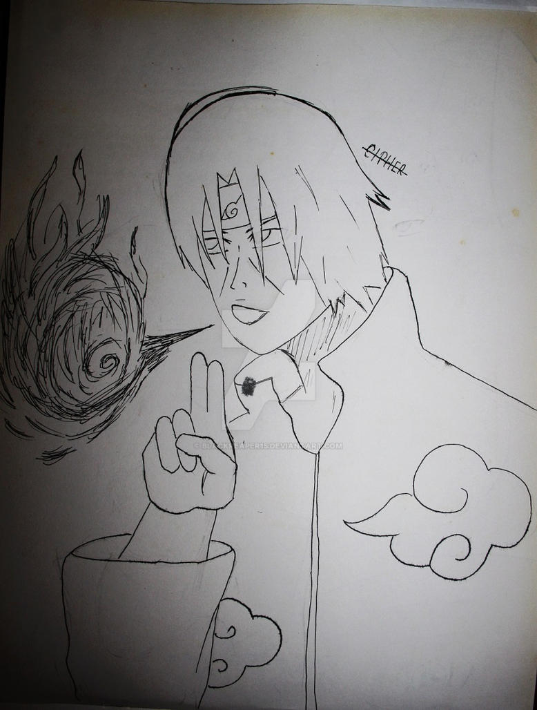 Itachi 2 by blackreaper15