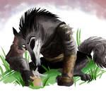 hug for the wolf boss