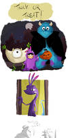 trick or treat monsters inc