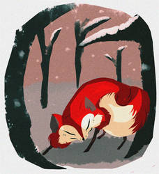 snow fox - the threequel by coffeebandit