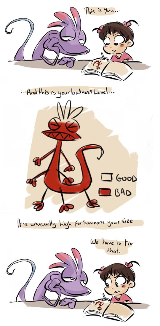 lizard of badness
