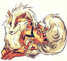 fire doggo by coffeebandit