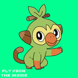 Grookey by Fly-From-The-Inside