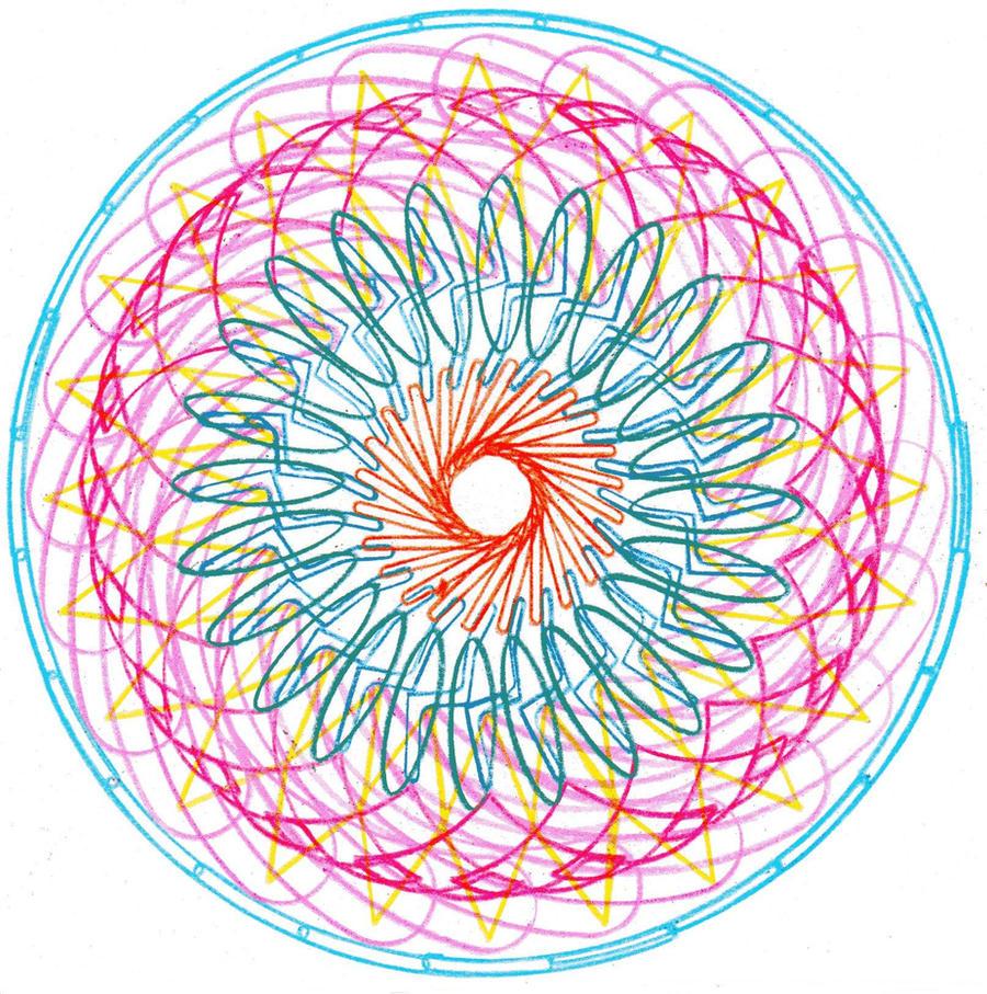 Spiral drawing 5