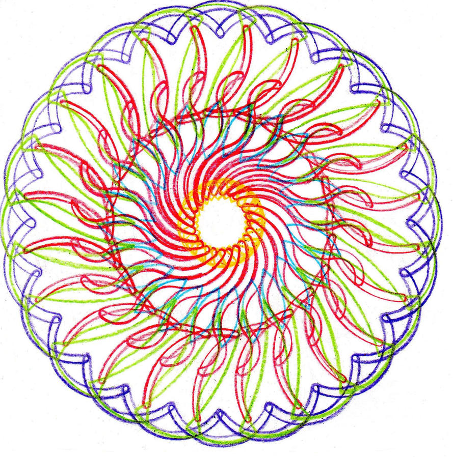 Spiral drawing 6 by Ritalabella on DeviantArt