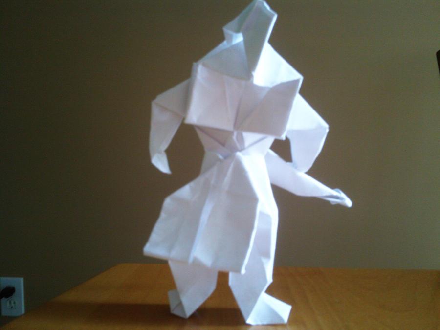 Origami Warrior By Ritalabella On Deviantart