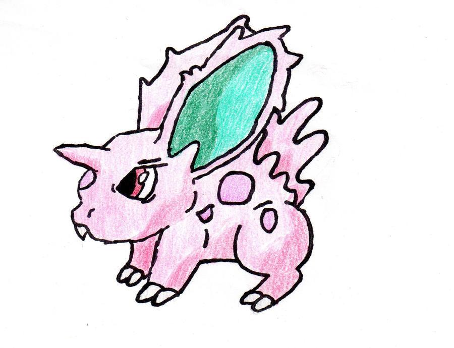 human pokemon nidoran f - photo #13