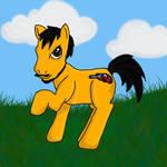 Gear Shine - My friend as a pony