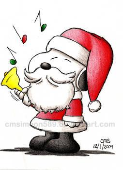It's Teh Santa Beagle