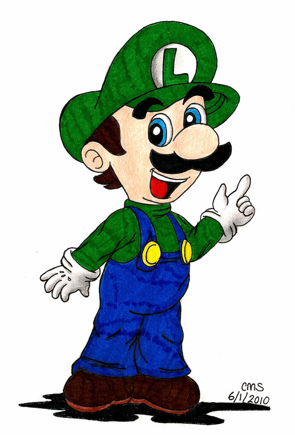 And Just-a Luigi, Too by cmsimeon589