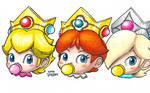Head-Shot Baby Princesses