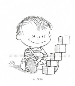 Baby Linus Doodle