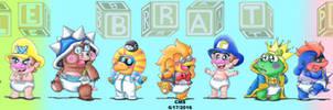 A Bunch Of Bratty Baddies by cmdixon589
