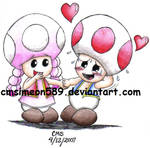 Toad and Toadette