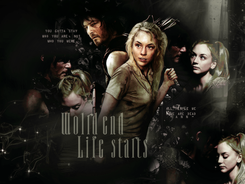 Daryl And Beth The Walking Dead Blend By AnnColt9