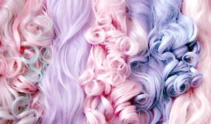 Pastel Wigs by princessrindoll