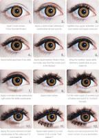 Gyaru Eye Makeup Tutorial by princessrindoll