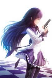 Homura Akemi by NeoShell