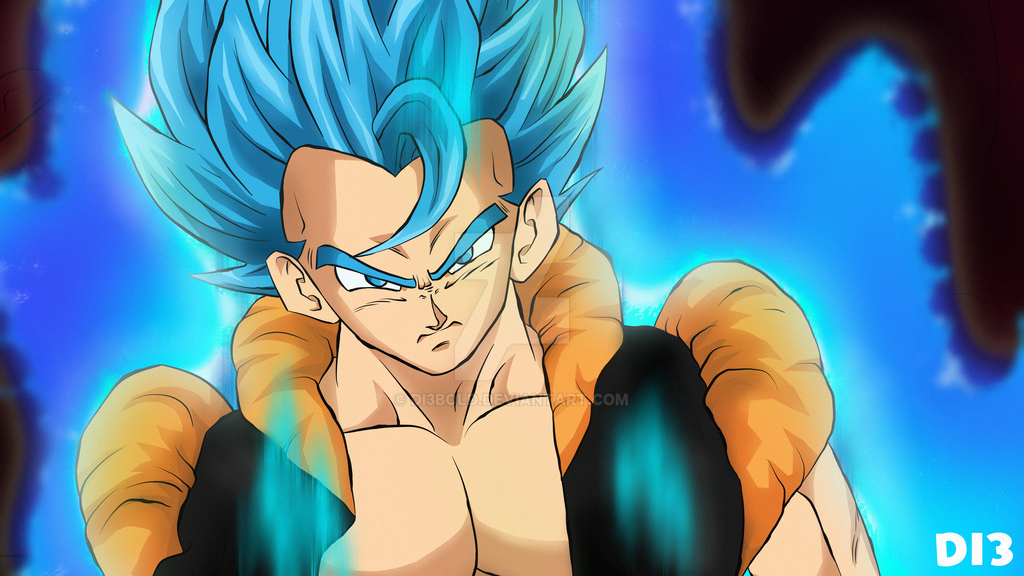 Gogeta Ssjb Dragon Ball Super Broly By Di3bold On Deviantart