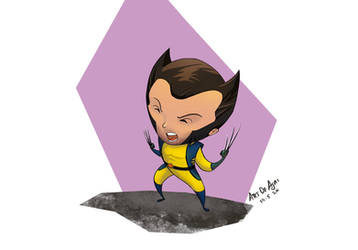 Adorable - wolverine  by artofajai