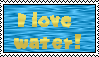 I love water stamp by Kiddo-the-dragon