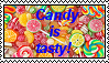 Candy is tasty stamp by Kiddo-the-dragon