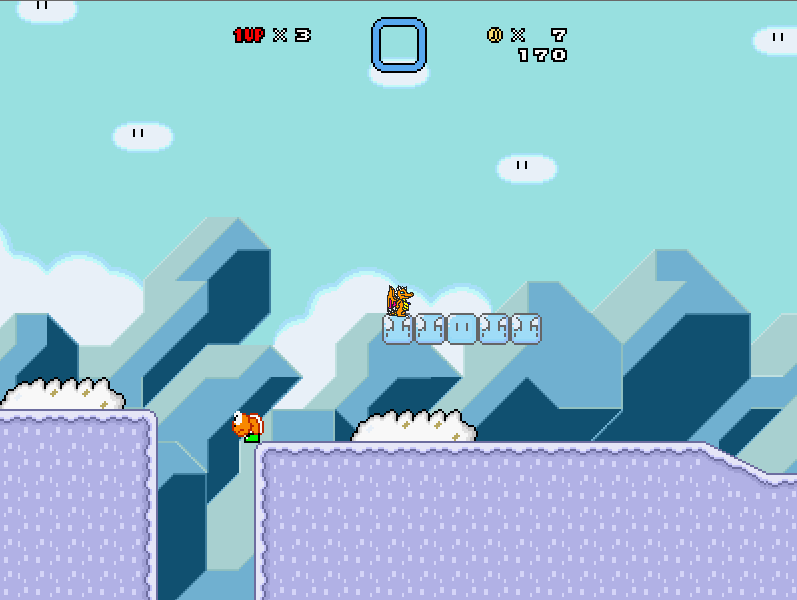 Draco Chronicles - An ice level by Kiddo-the-dragon