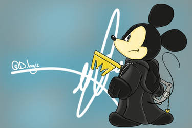 Mickey Mouse - (Kingdom Hearts) by DlogicDeviantArtist