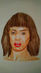 Joan Smalls, Pin Up 2 by fab37