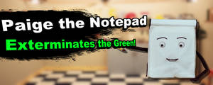 Paige the Notepad Joins Smash Bros! by EDOARDOMASTER