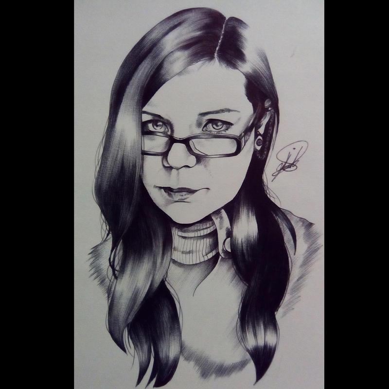 Retrato by Dulsonio