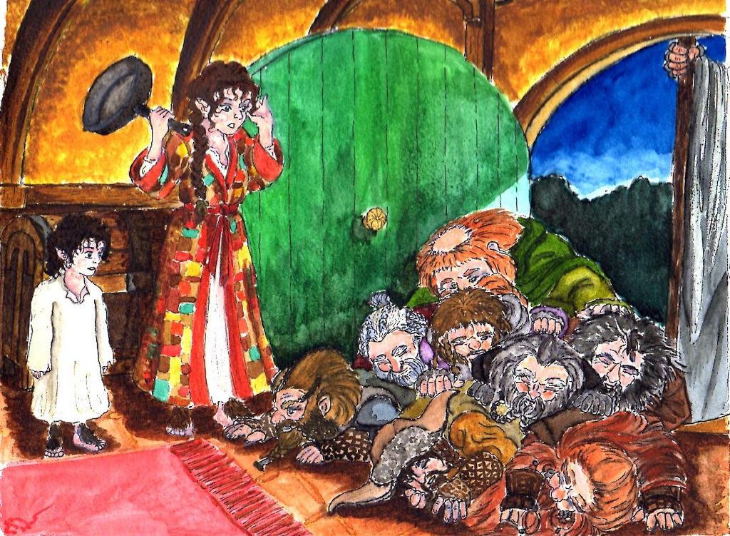 hobbit fanart witchsbrewcauldron3 the hobbit all