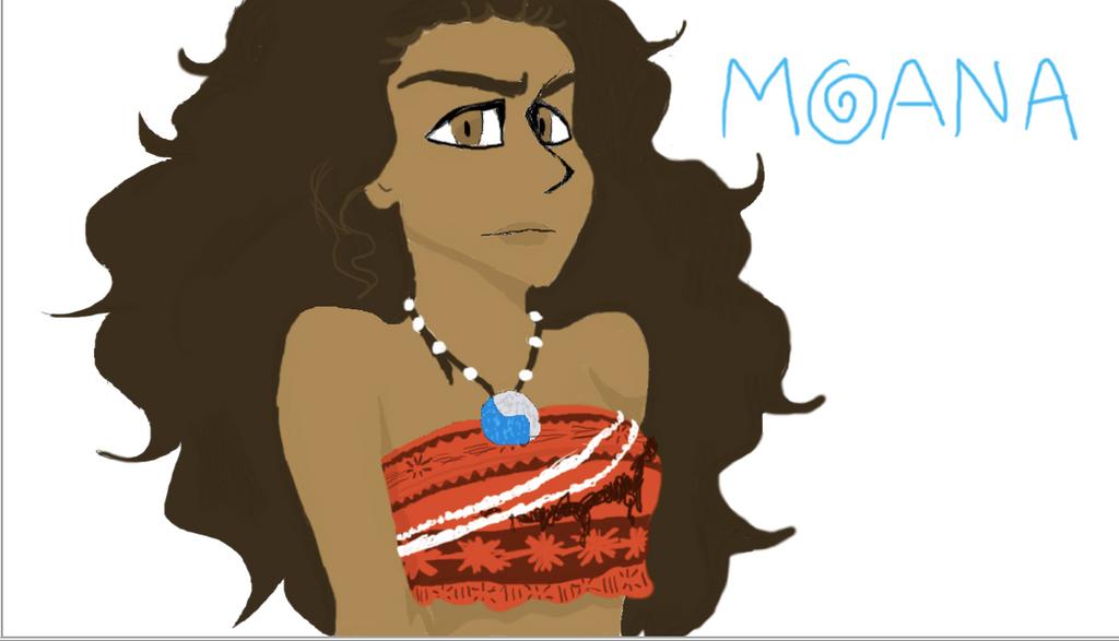 Moana by Skittlezart1234