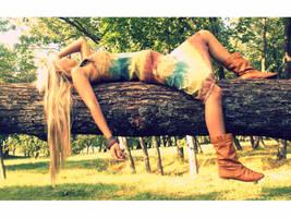 Girl from jungle by SecretElii