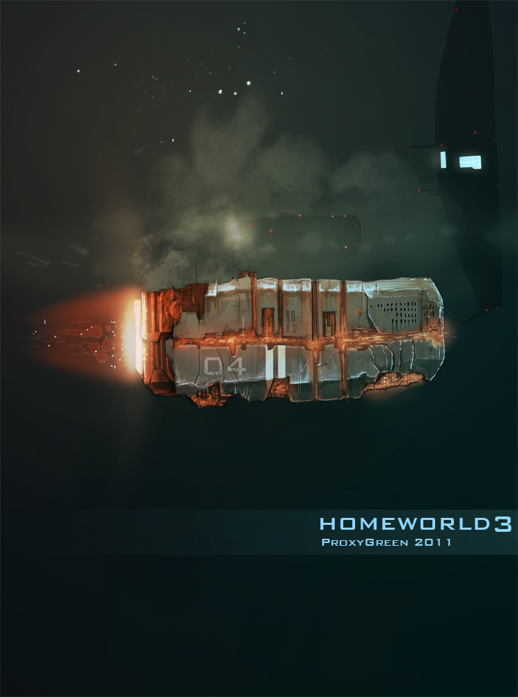 Homeworld by ProxyGreen