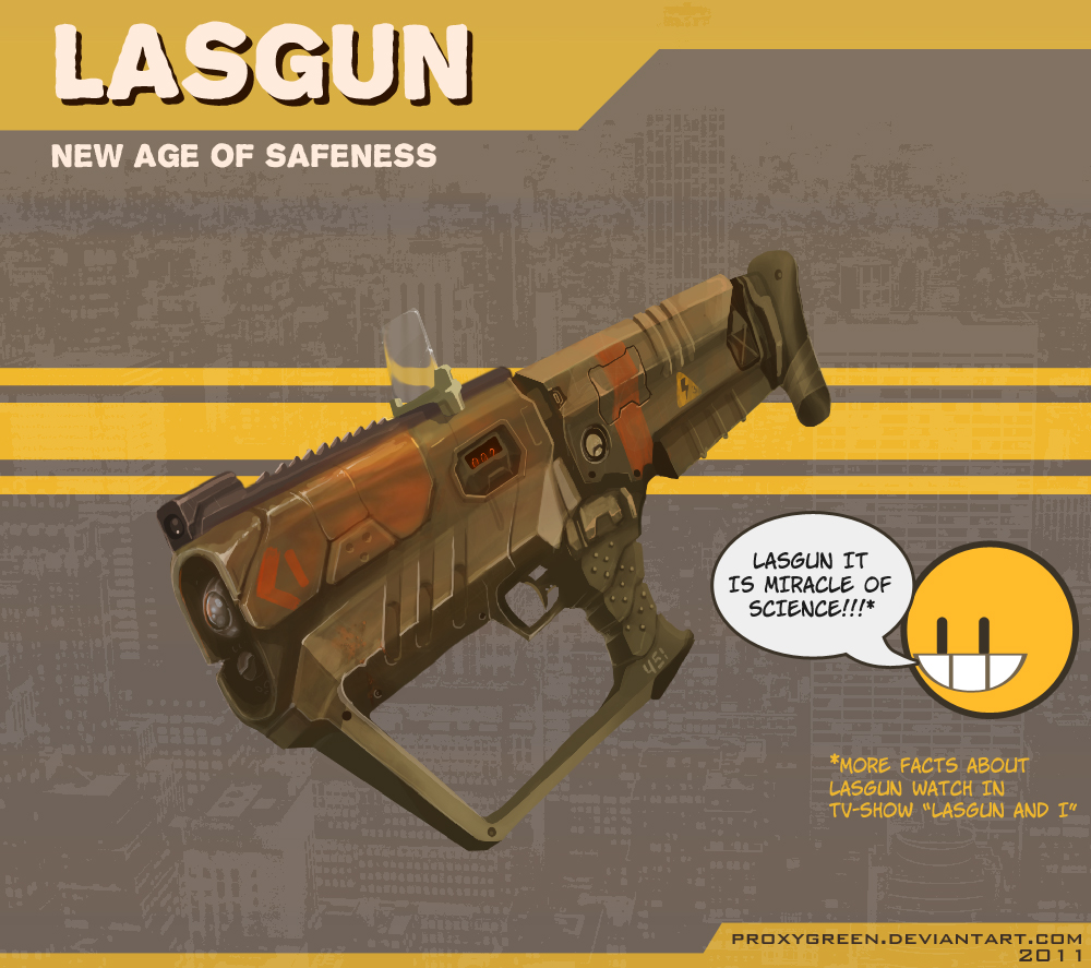 Lasgun by ProxyGreen